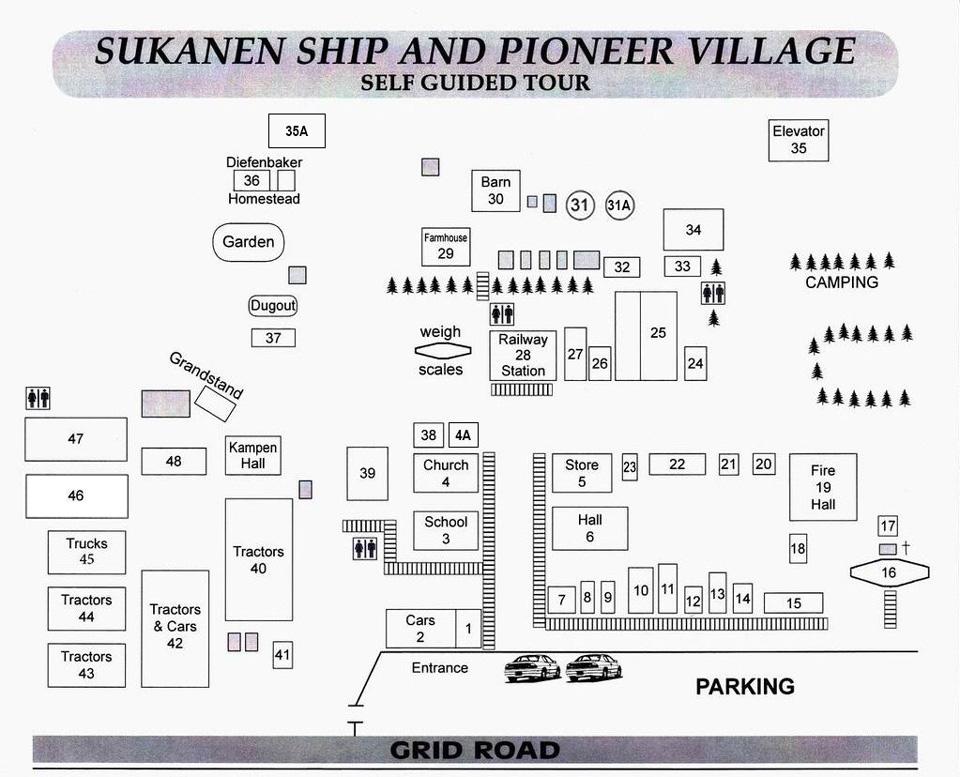 Museum Village Map