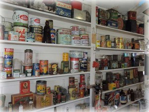 Canned groceries