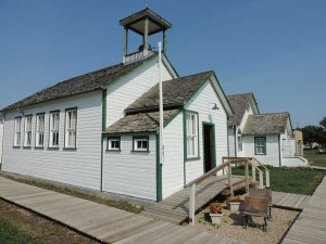 School at the Sukanen Ship Pioneer Village Museum