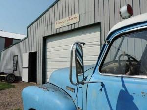 Vintage Truck Building