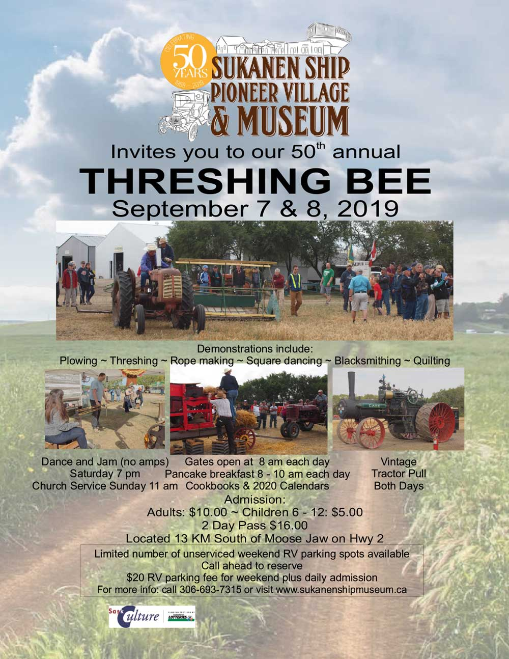 Threshing Bee 2019